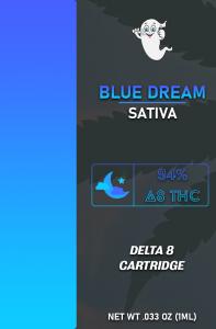 Delta 8 Blue Dream Vape Cartridge